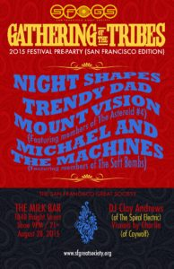 San Francisco Great Society Pre Party Poster - Gathering of The Tribes
