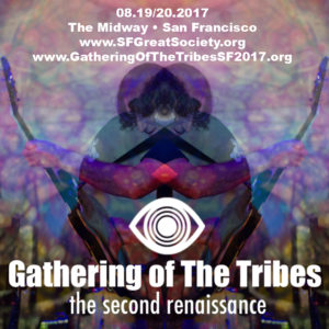 The second Gathering of the Tribes music festival is underway in honor of the 50th anniversary of the summer of love. The Tribe is gathering once again to celebrate music, art and love for two days featuring visual artists, vendors, DJs, food, and more than 20-bands performing on two stages.