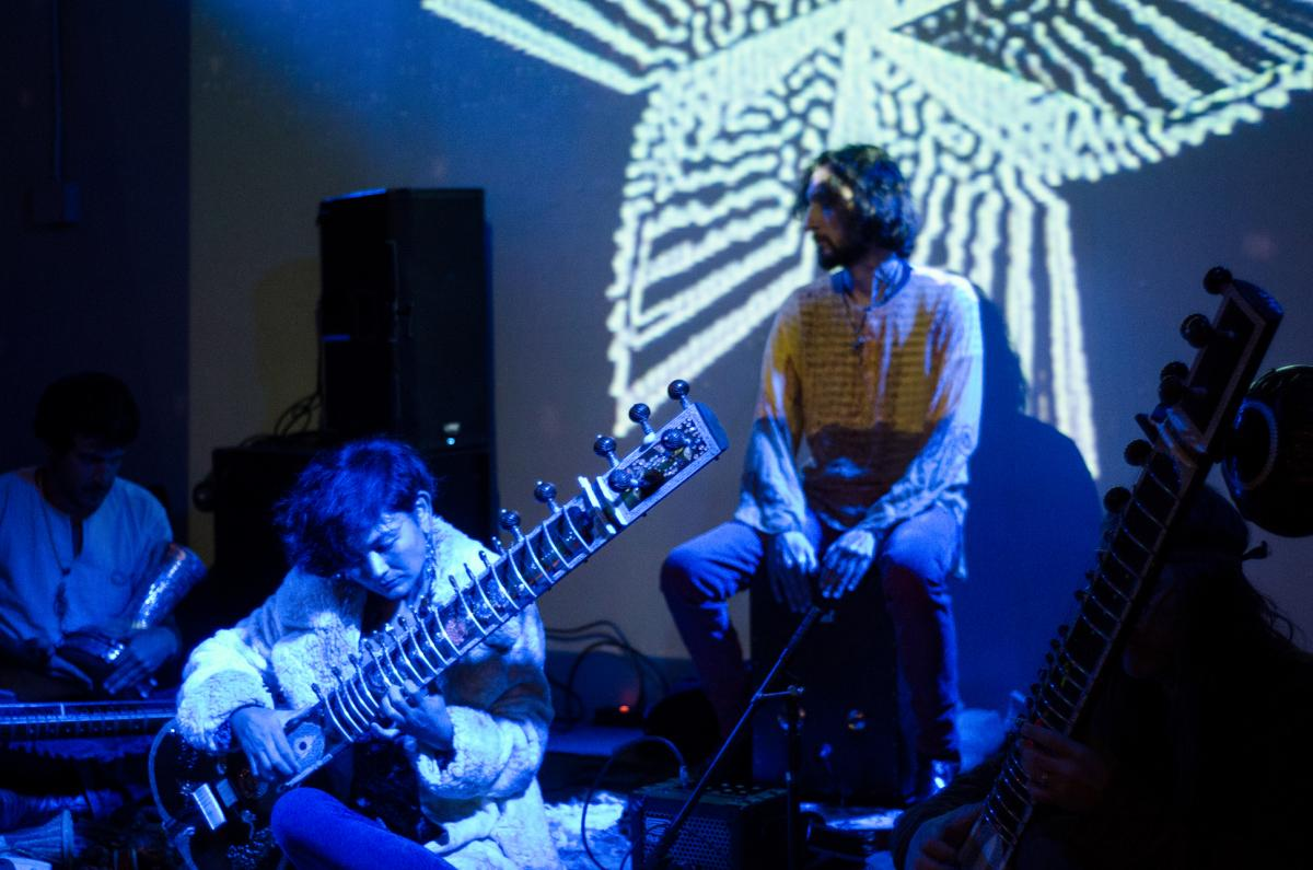 Featured video: California Raga Association at The San Francisco Great Society's Gathering of The Tribes: A Psychedelic Music and Art Happening / September 13, 2015